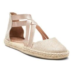 Women's Kenneth Cole Reaction How To Dance Espadrille Flat Rose Gold Fabric