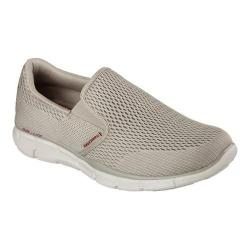Men's Skechers Equalizer Double Play Slip On Taupe