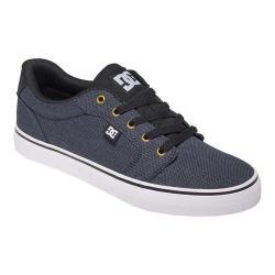 Men's DC Shoes Anvil TX SE Black/Grey
