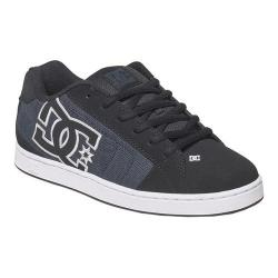 Men's DC Shoes Net SE Skate Shoe Black Dark Used