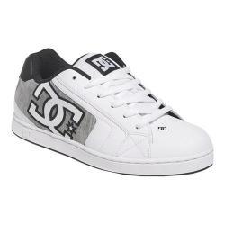 Men's DC Shoes Net SE Skate Shoe White/Light Grey