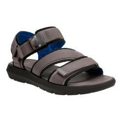 Men's Clarks Jacala Mag Walking Sandal Grey Textile