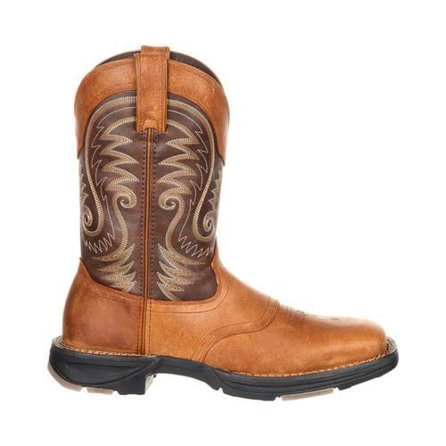 Men's Durango Boot DDB0110 UltraLite 11in Western Saddle Boot Saddle Brown/Chocolate  Full Grain Leather - Free Shipping Today - Overstock.com - 21017925