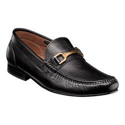 Men's Florsheim Boca Bit Loafer Black Full Grain Leather