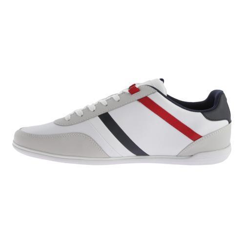 e18e5157ff Shop Men s Lacoste Giron TCL White Leather Synthetic - Free Shipping ...
