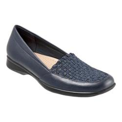 Women's Trotters Jenkins Slip-On Navy Leather/Synthetic