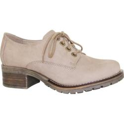 Women's Dromedaris Kaley Lug Sole Oxford Beige Leather (4 options available)