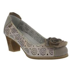 Women's L'Artiste by Spring Step Carmelita Pump Grey Leather