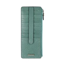 Women's Lodis Stephanie Credit Card Case w/Zipper Pocket Ocean