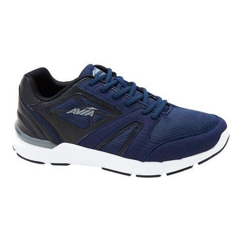 Men's Avia Avi-Edge Cross Training Shoe Navy/Black/Frost Grey