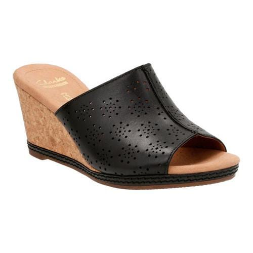 421af5ecffe Thumbnail Women  x27 s Clarks Helio Corridor Slide Black Cow Full Grain  Leather ...
