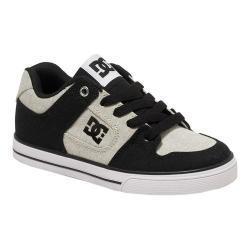 Boys' DC Shoes Pure TX SE Black/White/Black