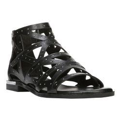 Women's Fergie Footwear Crazy Sandal Black Leather