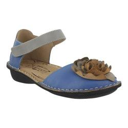 Women's L'Artiste by Spring Step Caicos Mary Jane Blue Multi Leather