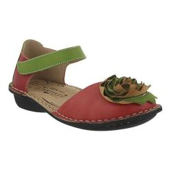 Women's L'Artiste by Spring Step Caicos Mary Jane Red Multi Leather