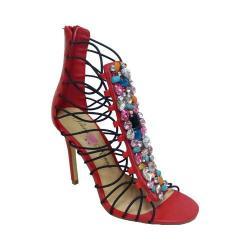 Women's Penny Loves Kenny Dare Sandal Red Polyurethane