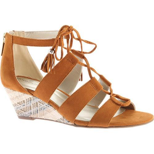 3d6eb550f5c5 Shop Women s Bandolino Opiuma Wedge Sandal Luggage Faux Suede - Free  Shipping On Orders Over  45 - Overstock - 14492926