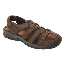 Men's Drew Hamilton Fisherman Sandal Brown Nubuck
