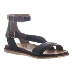 Women's OTBT March Strappy Sandal Black Leather