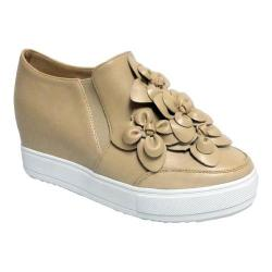 Women's Penny Loves Kenny Koi Slip-On Platform Wedge Sneaker Nude Polyurethane