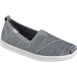 Women's Skechers BOBS Super Plush Long Stretch Alpargata Gray/Charcoal