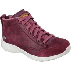 Women's Skechers Burst Carried Away High Top Burgundy
