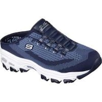 Women's Skechers D'Lites A New Leaf Sneaker Clog Navy