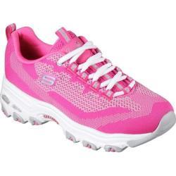 Women's Skechers D'Lites Reinvention Sneaker Hot Pink
