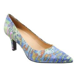 Women's Trotters Noelle Pointed Toe Pump Monet Multi Leather