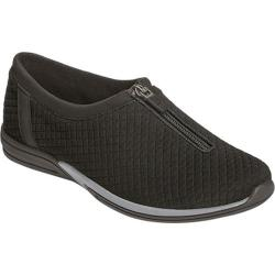 Women's Aerosoles Traveler Slip-On Black Quilted Fabric
