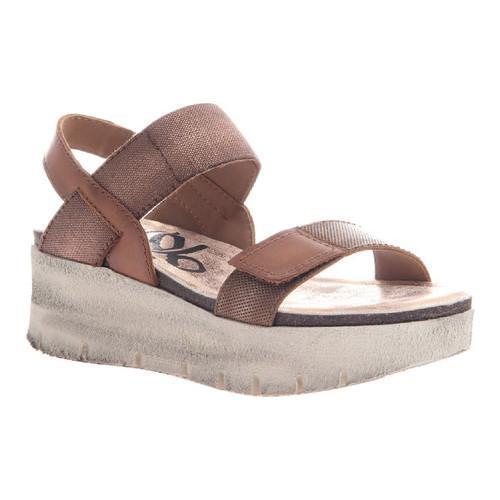 fd7c309bdb5 Shop Women s OTBT Nova Platform Sandal Copper Leather Textile - Free  Shipping Today - Overstock - 14498119