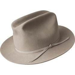 Men's Bailey of Hollywood Doty Fedora 14531BH Silver Belly