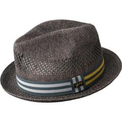 Men's Bailey of Hollywood Berle Fedora 81702 Charcoal
