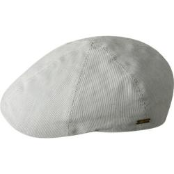 Men's Bailey of Hollywood Muroff Flat Cap 90098BH White Pinstripe (4 options available)