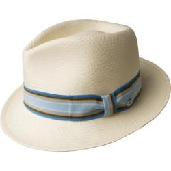 Men's Bailey of Hollywood Tharp Fedora 63132BH Natural/Surf Stripe