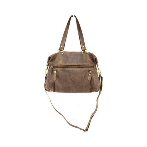 Women X27 S Latico Basel Shoulder Bag 8956 Distressed Brown Leather