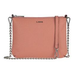 Women's Lodis Borrego Under Lock & Key Emily Clutch Crossbody Blush