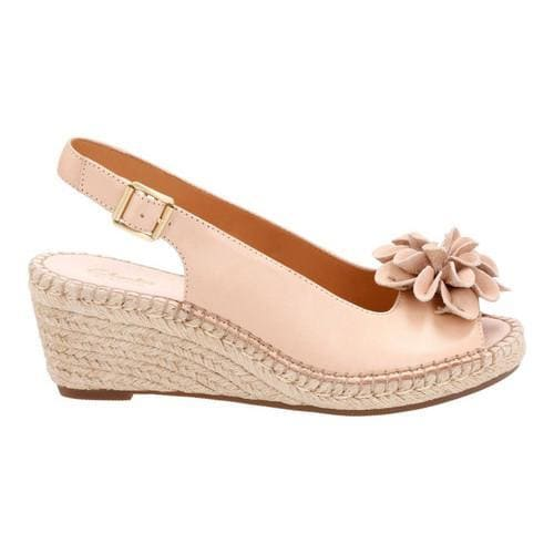96133b4ab9ab Shop Women s Clarks Petrina Bianca Espadrille Slingback Nude Cow Full Grain  Leather Cow Nubuck - Free Shipping On Orders Over  45 - Overstock.com -  14432395