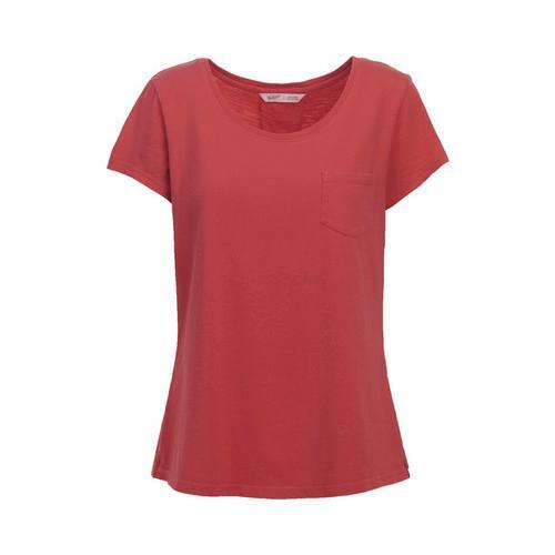 Women's Woolrich First Forks Short Sleeve Tee Teaberry (U...