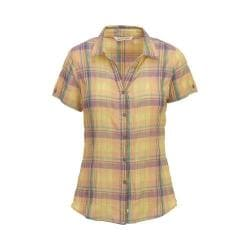 Women's Woolrich Carrabelle Short Sleeve Shirt Apricot Wash
