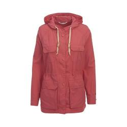 Women's Woolrich Lightweight Mountain Parka Faded Red