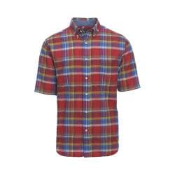 Men's Woolrich Timberline Plaid Shirt Antique Red