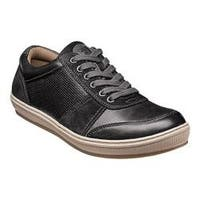 Men's Florsheim Venue Moc Toe Sneaker Black Full Grain Leather