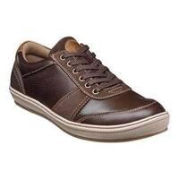 Men's Florsheim Venue Moc Toe Sneaker Brown Full Grain Leather