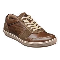 Men's Florsheim Venue Moc Toe Sneaker Cognac Full Grain Leather