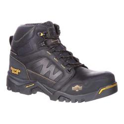 Men's Georgia Boot Amplitude Composite Toe Waterproof Work Boot Black Leather