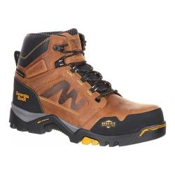 Men's Georgia Boot Amplitude Composite Toe Waterproof Work Boot Trail Crazy Horse Leather