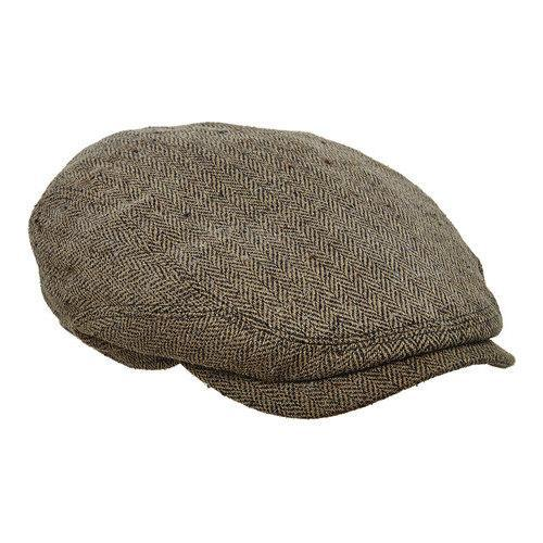 Shop Men s Stetson STC269 Flat Cap Olive - On Sale - Free Shipping Today -  Overstock.com - 14519243 32618db75fa
