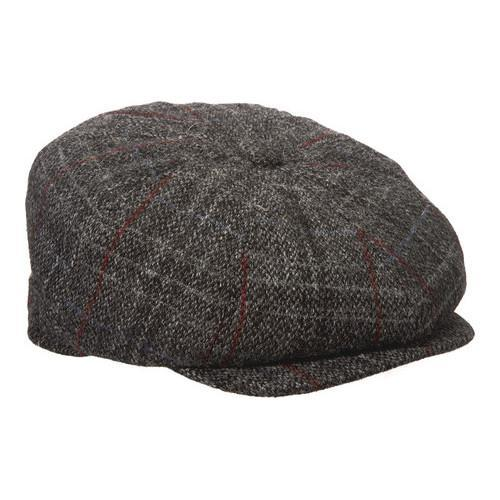 816b6863 Shop Men's Stetson STW240 Newsboy Cap Grey - Free Shipping On Orders Over  $45 - Overstock - 14519251