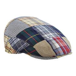 Men's Stetson STC273 Patchwork Flat Cap Patch